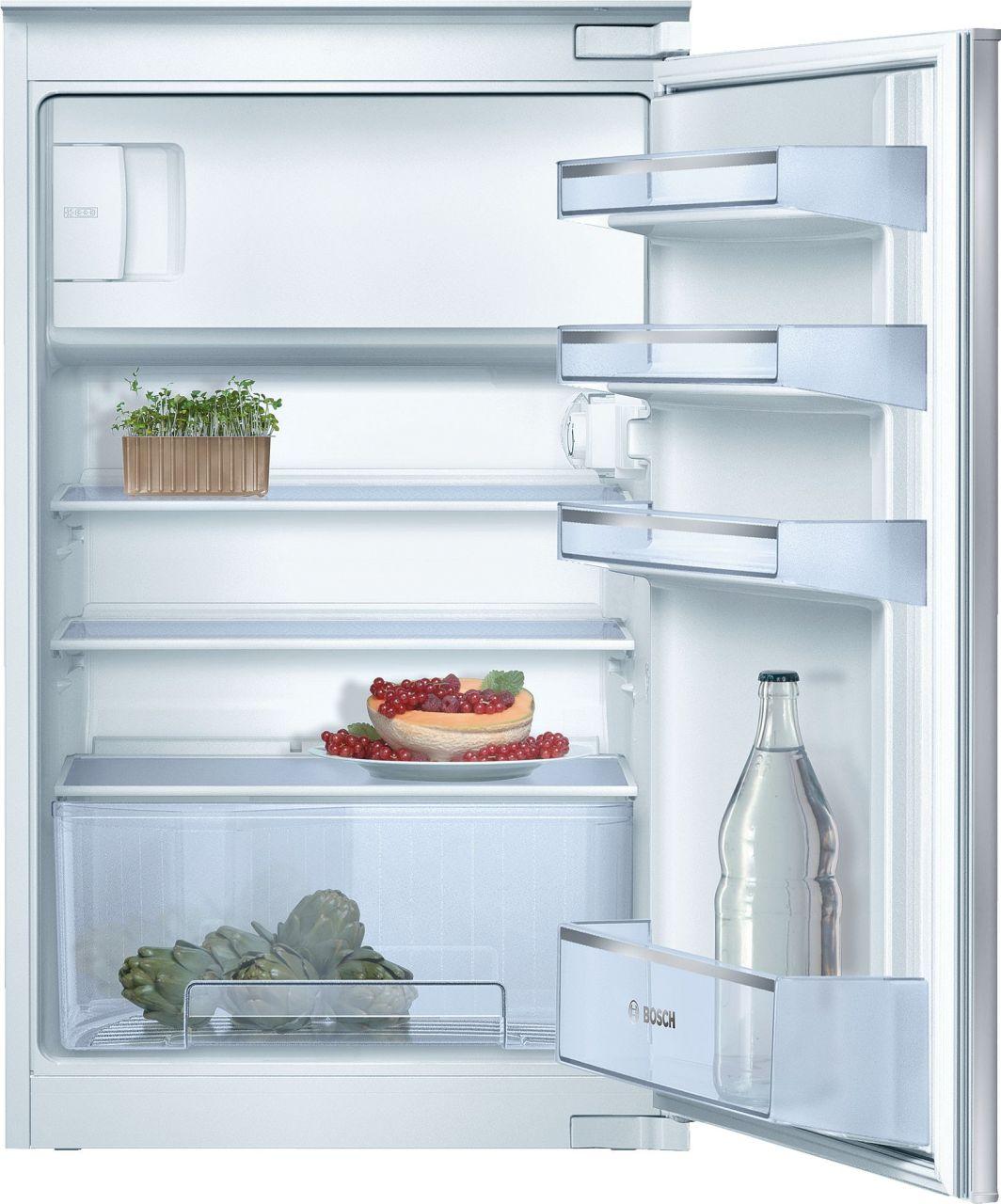 Bosch KIL18V20FF Einbau-Kühlschrank mit Gefrierfach 88 x 56 cm, Schlepptür
