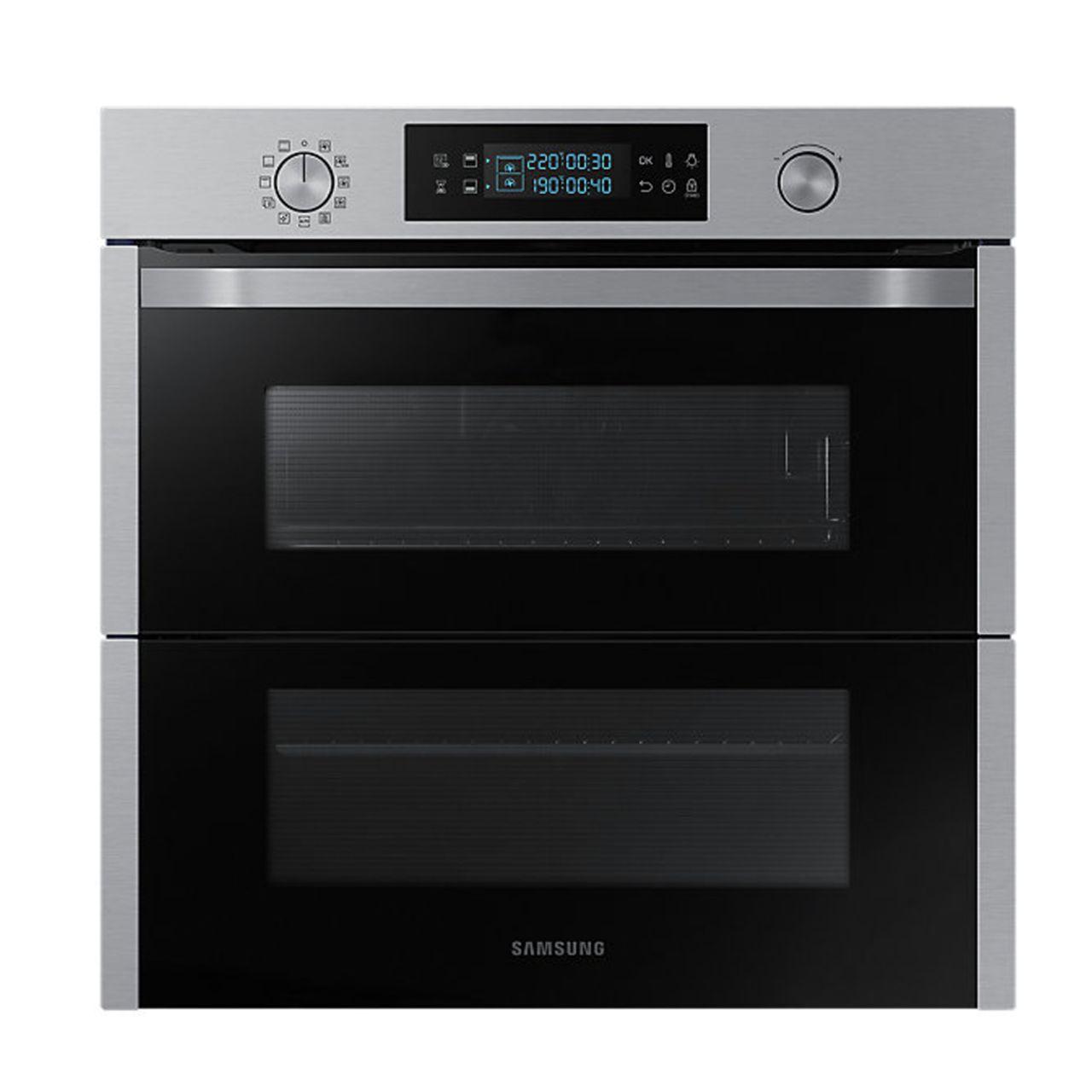 Samsung NV75N5641RS Dual Cook Einbaubackofen, 75 Liter