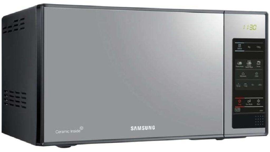 Samsung ME83X Mikrowelle, freistehend, schwarz