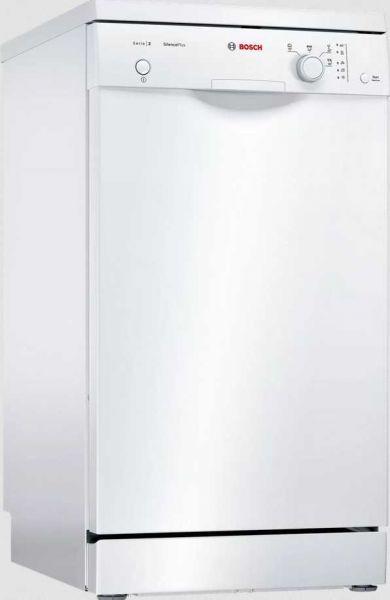 Bosch SPS25CW00E Stand-Geschirrspüler, Weiß, 45cm, A+