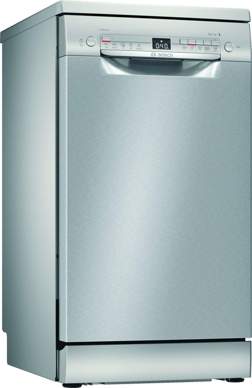 Bosch SPS2XMI01E Geschirrspüler 45 cm Edelstahl, unterbaufähig