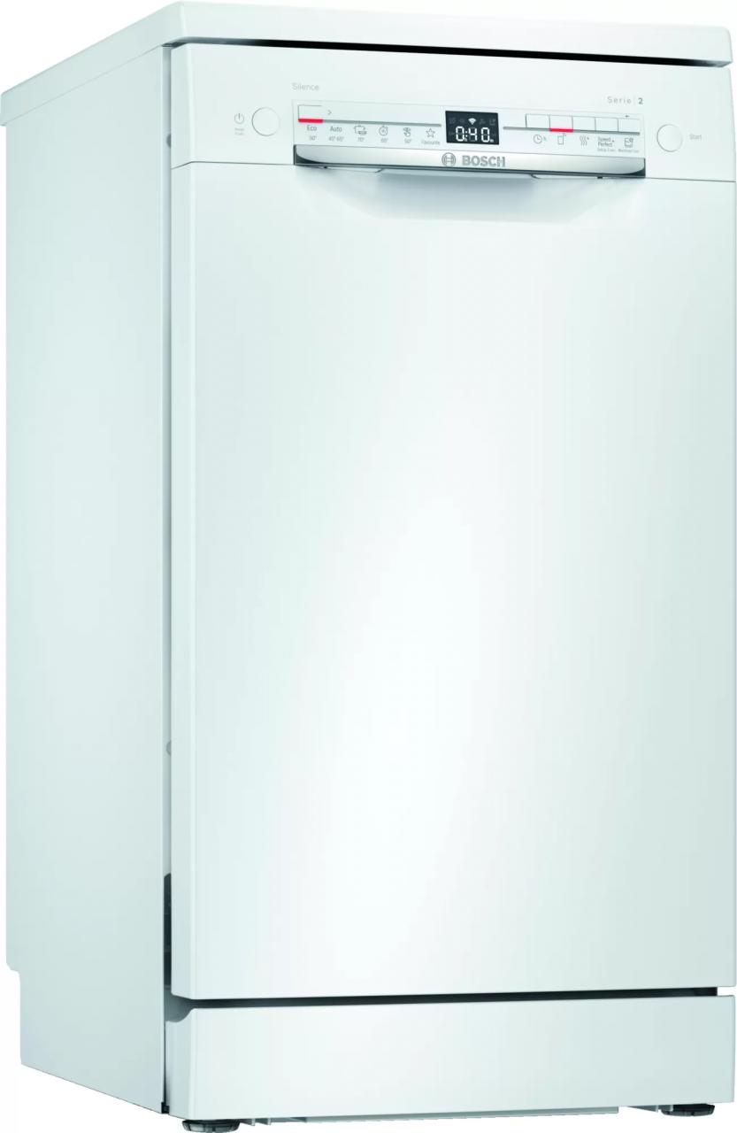 Bosch SPS2HKW57E freistehender Geschirrspüler 45 cm weiß