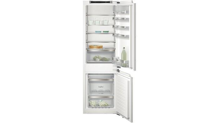 Siemens Kühlschrank Integrierbar : Siemens ki86nkd31 einbau k hl gefrier kombination flachschanier a